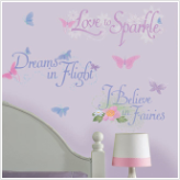 Disney Fairies Quotes Wall Decals