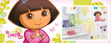 Dora the Explorer Wall Decor