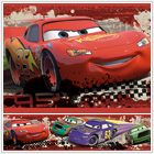 Disney Cars Piston Cup Racing Peel & Stick Wall Border