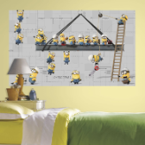 Minions Peel and Stick Wall Mural