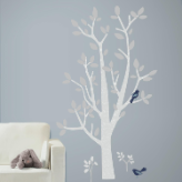 Patina Vie Woodland Tree Giant Wall Decals
