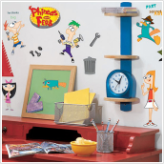 Phineas and Ferb Wall Decals