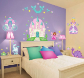 Princess Camryn Peel and Stick Wall Decals