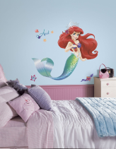 Little Mermaid Giant Wall Decal