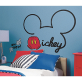All About Mickey Giant Wall Decals