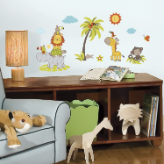 Jungle Babies Wall Decals