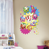 Shopkins Burst Giant Wall Decal