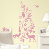 Forest Friends Giant Wall Decals