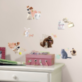 The Secret Life of Pets Girls Wall Decals
