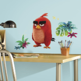 RED Angry Bird Giant Wall Decals