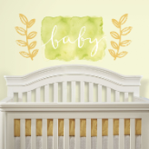 Kathy Davis Giant Watercolor Baby Peel and Stick Wall Decals