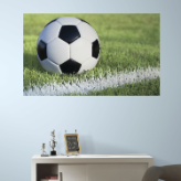 Soccer Peel and Stick Wall Mural