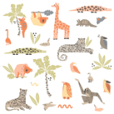 DwellStudio Jungle Animals Decals