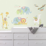 Tribal Baby Animals Wall Decals