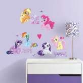 My Little Pony the Movie Peel and Stick Wall Decals