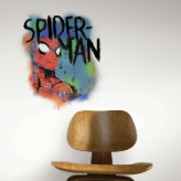 Spider-Man Classic Graffiti Giant Wall Decal