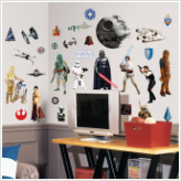 Star Wars Classic Movies Wall Decals