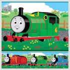 Thomas and Friends Peel & Stick Wall Border