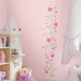 Little Princess Growth Chart Wall Decal