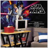 Star Wars XL Prepasted Wallpaper Mural