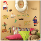 Treasure Hunt Wall Decals