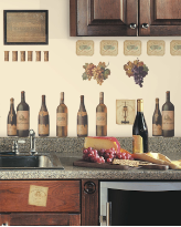 Wine Tasting Wall Decals