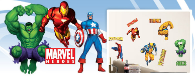 Marvel Comics Room Decor