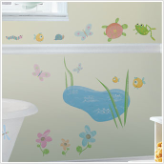 Hoppy Pond Wall Stickers