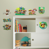 Jungle Paw Patrol Peel and Stick Wall Decals