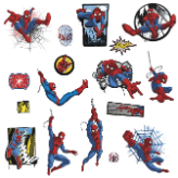 Ultimate Spider-Man Classic Comic Wall Decals