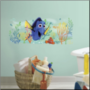 Finding Dory and Nemo Giant Graphic Wall Decal