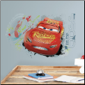 Cars 3 Lightning McQueen Giant Wall Decal