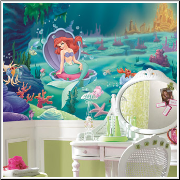 Little Mermaid XL Prepasted Wallpaper Mural