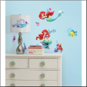 Little Mermaid Wall Decals