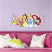 Disney Princess Friendship Adventures Giant Wall Decal