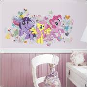 My Little Pony Giant Peel and Stick Wall Decals