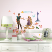 Tangled - Rapunzel Wall Decals