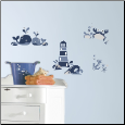 Nautical Sea Friends Wall Decals
