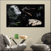 Star Wars Vehicles Peel and Stick Wall Mural
