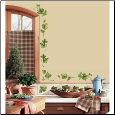 Evergreen Ivy Wall Appliques