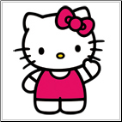 Hello Kitty Wall Decor