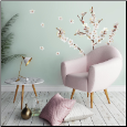 Dogwood Flowers Wall Decals