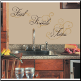 Good Food Wall Decals