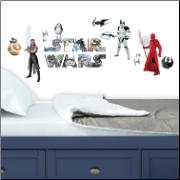 Star Wars Episode 8 Wall Decals