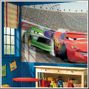 Disney Cars XL Prepasted Wallpaper Mural