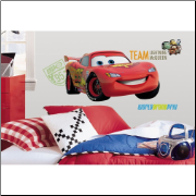 Lightning McQueen - Cars 2 Movie - Giant Wall Decal