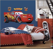 Lightning McQueen Giant Wall Decal