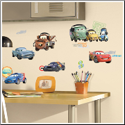 Disney Cars 2 Movie Wall Decals