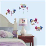 Shimmer and Shine Wall Decals