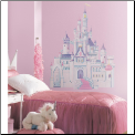 Disney Princess Castle Giant Wall Decal